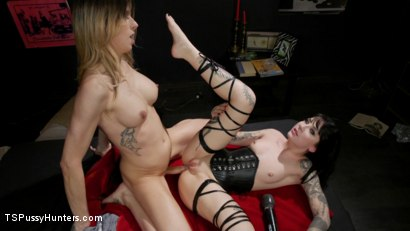 Photo number 27 from Noisy Nympho Neighbor shot for TS Pussy Hunters on Kink.com. Featuring Casey Kisses and Charlotte Sartre in hardcore BDSM & Fetish porn.