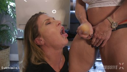 Photo number 9 from Cover Boss Reality TV Show Humilation for Bad Employee shot for Submissive X on Kink.com. Featuring Brandi Mae and Ariel X in hardcore BDSM & Fetish porn.