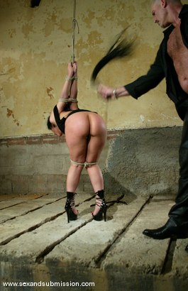 Photo number 6 from The Runaway Pt.1 shot for Sex And Submission on Kink.com. Featuring Mark Davis and Luscious Lopez in hardcore BDSM & Fetish porn.