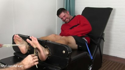 Photo number 5 from Clint Detained & Tickle Tormented shot for My Friends Feet on Kink.com. Featuring Rich and Clint in hardcore BDSM & Fetish porn.