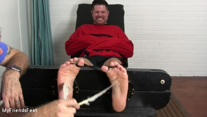 Photo number 9 from Clint Detained & Tickle Tormented shot for My Friends Feet on Kink.com. Featuring Rich and Clint in hardcore BDSM & Fetish porn.