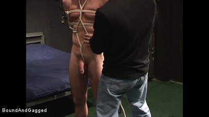 Photo number 16 from Mario's Boy: Now Get Loose..or Else shot for Bound And Gagged on Kink.com. Featuring Sean Patrick, Doug Jeffries and Mario Ortiz in hardcore BDSM & Fetish porn.