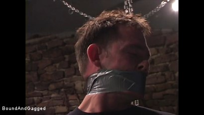 Photo number 3 from Mario's Boy: Now Get Loose..or Else shot for Bound And Gagged on Kink.com. Featuring Sean Patrick, Doug Jeffries and Mario Ortiz in hardcore BDSM & Fetish porn.