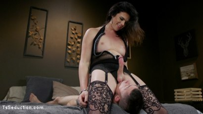 Photo number 13 from Kendall Penny Punishes Task App Guy With Her Cock. shot for TS Seduction on Kink.com. Featuring Corbin Dallas and Kendall Penny in hardcore BDSM & Fetish porn.
