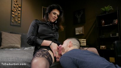 Photo number 5 from Kendall Penny Punishes Task App Guy With Her Cock. shot for TS Seduction on Kink.com. Featuring Corbin Dallas and Kendall Penny in hardcore BDSM & Fetish porn.