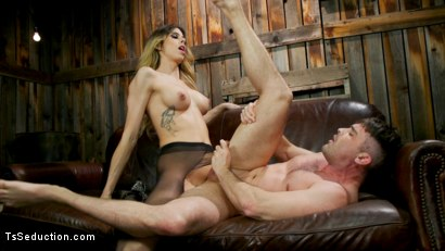 Photo number 14 from Slumlord's Comeuppance: Casey Kisses takes down creep shot for TS Seduction on Kink.com. Featuring Casey Kisses and Lance Hart in hardcore BDSM & Fetish porn.