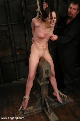 Photo number 5 from ENCORE OF AMBER RAYNES APRIL 6TH LIVE SHOW shot for Hogtied on Kink.com. Featuring Amber Rayne in hardcore BDSM & Fetish porn.