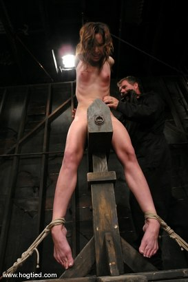 Photo number 6 from ENCORE OF AMBER RAYNES APRIL 6TH LIVE SHOW shot for Hogtied on Kink.com. Featuring Amber Rayne in hardcore BDSM & Fetish porn.