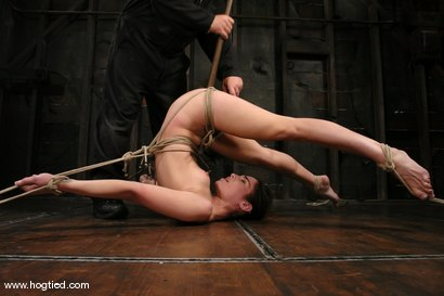 Photo number 9 from ENCORE OF AMBER RAYNES APRIL 6TH LIVE SHOW shot for Hogtied on Kink.com. Featuring Amber Rayne in hardcore BDSM & Fetish porn.