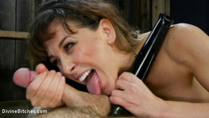 Photo number 10 from Reverse Abduction: Cherie DeVille outwits her captor and takes control shot for Divine Bitches on Kink.com. Featuring Cherie DeVille and Ruckus in hardcore BDSM & Fetish porn.