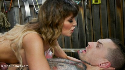 Photo number 13 from Reverse Abduction: Cherie DeVille outwits her captor and takes control shot for Divine Bitches on Kink.com. Featuring Cherie DeVille and Ruckus in hardcore BDSM & Fetish porn.