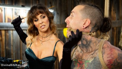 Photo number 5 from Reverse Abduction: Cherie DeVille outwits her captor and takes control shot for Divine Bitches on Kink.com. Featuring Cherie DeVille and Ruckus in hardcore BDSM & Fetish porn.