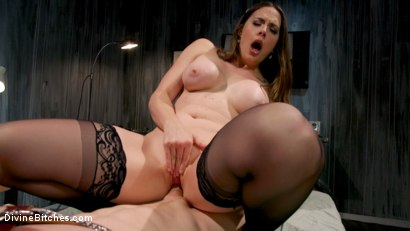 Photo number 14 from Wayward Man: Nurse Chanel Preston's Unorthodox Treatment for Perverts shot for Divine Bitches on Kink.com. Featuring Chanel Preston and Rick Fantana in hardcore BDSM & Fetish porn.