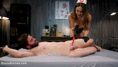 Photo number 7 from Wayward Man: Nurse Chanel Preston's Unorthodox Treatment for Perverts shot for Divine Bitches on Kink.com. Featuring Chanel Preston and Rick Fantana in hardcore BDSM & Fetish porn.