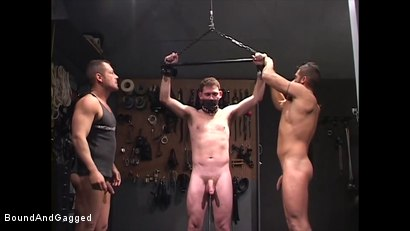 Photo number 11 from Mario's Boy: The Anal Impaler shot for Bound And Gagged on Kink.com. Featuring Sean Patrick, Doug Jeffries and Mario Ortiz in hardcore BDSM & Fetish porn.