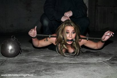 Photo number 8 from Alexa Von Tess Live, Part 1 shot for Device Bondage on Kink.com. Featuring Alexa Von Tess and Delilah Strong in hardcore BDSM & Fetish porn.