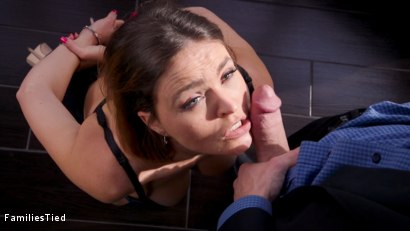 Photo number 2 from Unruly Niece Gets A Fat Cock in Her Ass shot for  on Kink.com. Featuring Krissy Lynn, Gia Derza  and Stirling Cooper in hardcore BDSM & Fetish porn.