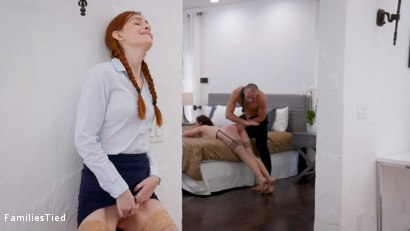 Photo number 1 from Little Lesbian Stalker Sis Trained as Sex Toy shot for  on Kink.com. Featuring Stirling Cooper , Maya Kendrick and Sovereign Syre in hardcore BDSM & Fetish porn.