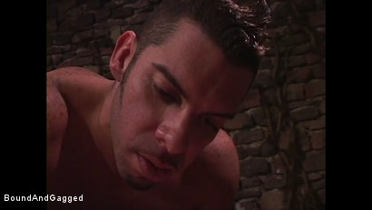 Photo number 6 from Mario's Boy: Sean Shaved, Pinned, and Electrified shot for Bound And Gagged on Kink.com. Featuring Sean Patrick, Doug Jeffries and Mario Ortiz in hardcore BDSM & Fetish porn.