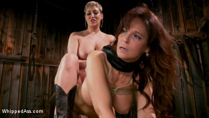 Photo number 12 from Kinky Lesbian Barn Babes shot for Whipped Ass on Kink.com. Featuring Ryan Keely and Syren de Mer in hardcore BDSM & Fetish porn.