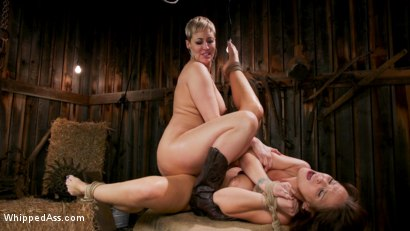 Photo number 18 from Kinky Lesbian Barn Babes shot for Whipped Ass on Kink.com. Featuring Ryan Keely and Syren de Mer in hardcore BDSM & Fetish porn.
