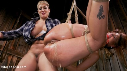 Photo number 7 from Kinky Lesbian Barn Babes shot for Whipped Ass on Kink.com. Featuring Ryan Keely and Syren de Mer in hardcore BDSM & Fetish porn.