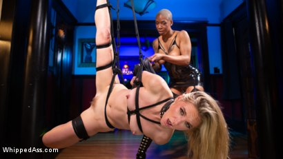 Off The Books: Mona Wales Submits to Mistress Ashley Paige