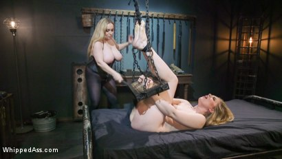 Photo number 17 from Cum Slut, Cum: Aiden Starr Demands Orgasms From Anal Lesbian Slave shot for Whipped Ass on Kink.com. Featuring Aiden Starr and Dresden in hardcore BDSM & Fetish porn.