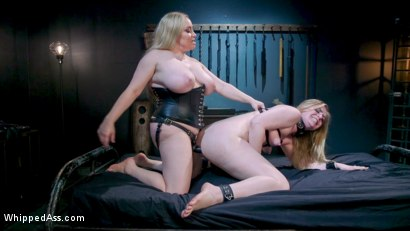 Photo number 26 from Cum Slut, Cum: Aiden Starr Demands Orgasms From Anal Lesbian Slave shot for Whipped Ass on Kink.com. Featuring Aiden Starr and Dresden in hardcore BDSM & Fetish porn.