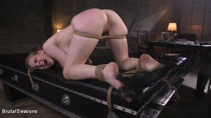 Photo number 11 from Obedient Pain Slut SCREAMS for Anal Punishment shot for Brutal Sessions on Kink.com. Featuring Stirling Cooper  and Delirious Hunter in hardcore BDSM & Fetish porn.
