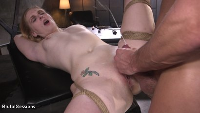 Photo number 18 from Obedient Pain Slut SCREAMS for Anal Punishment shot for Brutal Sessions on Kink.com. Featuring Stirling Cooper  and Delirious Hunter in hardcore BDSM & Fetish porn.