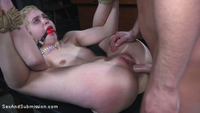 Photo number 15 from Job Hunt shot for Sex And Submission on Kink.com. Featuring Seth Gamble and Chloe Cherry in hardcore BDSM & Fetish porn.