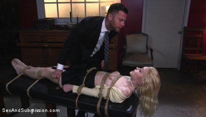 Photo number 2 from Job Hunt shot for Sex And Submission on Kink.com. Featuring Seth Gamble and Chloe Cherry in hardcore BDSM & Fetish porn.