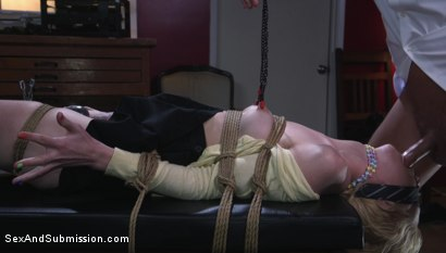 Photo number 6 from Job Hunt shot for Sex And Submission on Kink.com. Featuring Seth Gamble and Chloe Cherry in hardcore BDSM & Fetish porn.