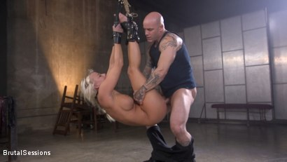 Photo number 10 from MILF Slut London River Anal Fucked In Rope Bondage and Impact Play! shot for Brutal Sessions on Kink.com. Featuring Derrick Pierce and London River in hardcore BDSM & Fetish porn.