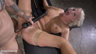MILF Slut London River Anal Fucked In Rope Bondage and Impact Play!