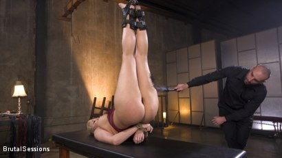 Photo number 1 from Big Titted Goddess Ryan Keely Fucked, Disciplined in Rope Bondage shot for Brutal Sessions on Kink.com. Featuring Stirling Cooper  and Ryan Keely in hardcore BDSM & Fetish porn.