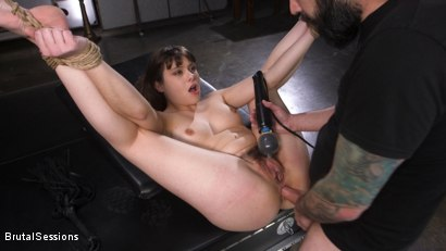 Photo number 27 from Euro-Teen BDSM Whore Luna Rival Anal Fucked in Brutal Rope Bondage! shot for Brutal Sessions on Kink.com. Featuring Tommy Pistol and Luna Rival in hardcore BDSM & Fetish porn.