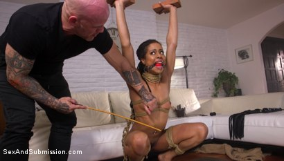 Photo number 11 from No Quit Approach: Kira Noir gets motivational fuckdown from life coach  shot for Sex And Submission on Kink.com. Featuring Derrick Pierce and Kira Noir in hardcore BDSM & Fetish porn.