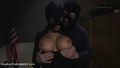 Photo number 2 from The Snitch shot for Sex And Submission on Kink.com. Featuring Tommy Pistol and Gia Milana in hardcore BDSM & Fetish porn.