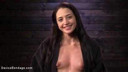 Photo number 15 from Removing Her Innocence: Avi Love shot for Device Bondage on Kink.com. Featuring Avi Love in hardcore BDSM & Fetish porn.