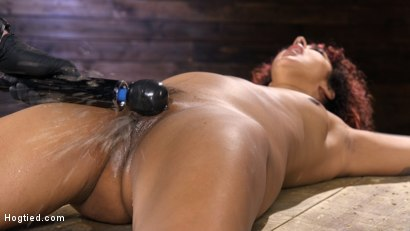 Photo number 12 from Brutal Bondage, Severe Torment, And Squirting Orgasms shot for Hogtied on Kink.com. Featuring Daisy Ducati in hardcore BDSM & Fetish porn.
