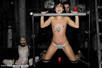 Photo number 5 from Jandi Lin Live, Part 1 shot for Device Bondage on Kink.com. Featuring Jandi Lin, Sarah Jane Ceylon and Claire Adams in hardcore BDSM & Fetish porn.