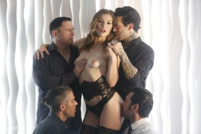 Photo number 12 from Ella Says The More Cocks The Better shot for Digital Sin on Kink.com. Featuring Ella Nova , John Strong, Mick Blue, Small Hands and Tommy Pistol in hardcore BDSM & Fetish porn.
