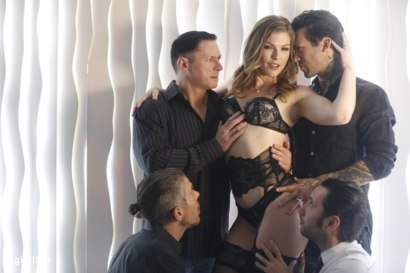 Photo number 9 from Ella Says The More Cocks The Better shot for Digital Sin on Kink.com. Featuring Ella Nova , John Strong, Mick Blue, Small Hands and Tommy Pistol in hardcore BDSM & Fetish porn.