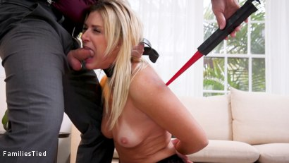 Photo number 1 from Agent India Summer's Ass is Destroyed by Son-In-Law shot for  on Kink.com. Featuring India Summer, Cadence Lux and Tommy Pistol in hardcore BDSM & Fetish porn.