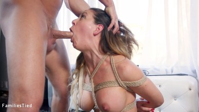 Photo number 2 from Psycho Anal Step-Mommy Cherie DeVille Is Put in Her Place shot for  on Kink.com. Featuring Cherie DeVille, Seth Gamble and Carolina Sweets in hardcore BDSM & Fetish porn.