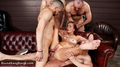 Photo number 14 from School of Hard Cocks: Hot Teacher Disciplined by Students, Headmaster shot for Bound Gang Bangs on Kink.com. Featuring Donny Sins, Codey Steele , Holly Lace , Stirling Cooper , Anthony Gaultier  and Eddie Jaye in hardcore BDSM & Fetish porn.