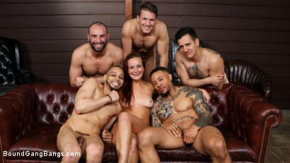 Photo number 17 from School of Hard Cocks: Hot Teacher Disciplined by Students, Headmaster shot for Bound Gang Bangs on Kink.com. Featuring Donny Sins, Codey Steele , Holly Lace , Stirling Cooper , Anthony Gaultier  and Eddie Jaye in hardcore BDSM & Fetish porn.