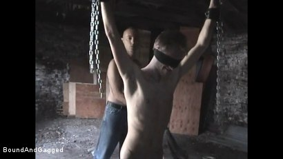 Photo number 7 from Catch a Thief: Slave Training pt. 1 shot for Bound And Gagged on Kink.com. Featuring Tim Taylor and Oskar in hardcore BDSM & Fetish porn.